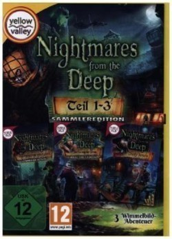 Nightmares from the Deep Teil 1-3, 1 CD-ROM