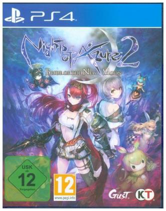 Nights of Azure 2, Bride of The New Moon, 1 PS4-Blu-Ray Disc