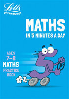 Letts Maths in 5 Minutes a Day Age 7-8