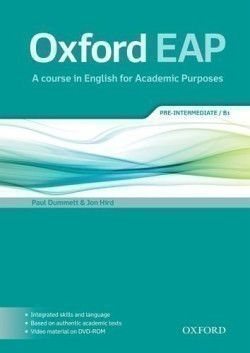 Oxford English for Academic Purposes B1 Student´s Book + DVD-ROM Pack