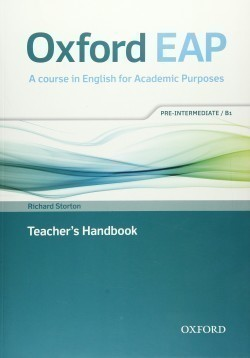 Oxford English for Academic Purposes B1 Teacher´s Handbook