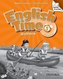 English Time 2nd Edition 5 Workbook with Online Practice