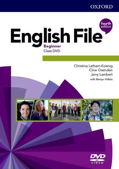 English File Fourth Edition Beginner Class DVD