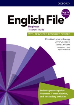 English File Fourth Edition Beginner Teacher's Book with Teacher's Resource Center