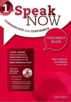 Speak Now 1 Teacher´s Book with Testing Program CD-ROM