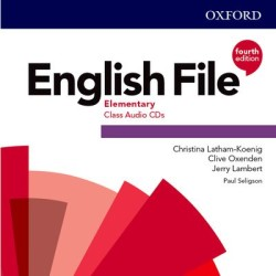 English File Fourth Edition Elementary Class Audio CDs /5/