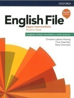 English File Fourth Edition Upper Intermediate Student's Book with Student Resource Centre Pack CZ