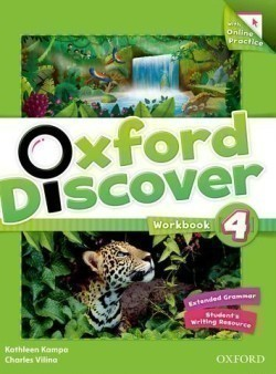 Oxford Discover 4 Workbook with Online Practice