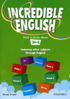 Incredible English 3+4 DVD Activity Book