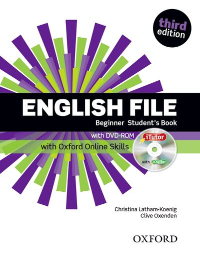English File Third Edition Begginer Student´s Book with iTutor DVD-ROM and Online Skills