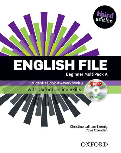 English File Third Edition Beginner Multipack A with Oxford Online Skills