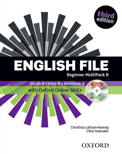 English File Third Edition Beginner Multipack B with Oxford Online Skills
