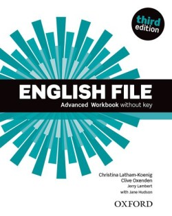 English File Third Edition Advanced Workbook without Answer Key