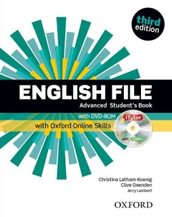 English File Third Edition Advanced Student´s Book with iTutor DVD-ROM and Online Skills
