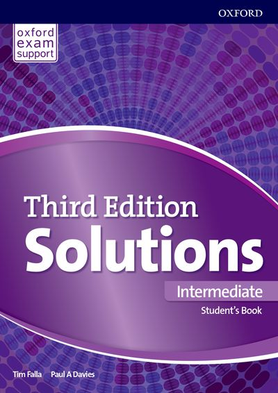 Solutions 3rd Edition Intermediate Student's Book International Edition