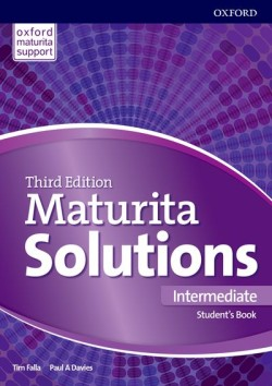 Maturita Solutions 3rd Edition Intermediate Student's Book Czech Edition