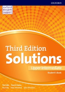 Solutions 3rd Edition Upper-intermediate Student's Book International Edition