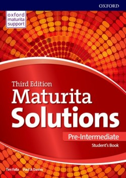Maturita Solutions 3rd Edition Pre-Intermediate Student's Book Czech Edition