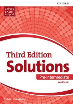 Solutions 3rd Edition Pre-intermediate Workbook International Edition