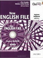 New English File Beginner Workbook with Key+ MultiRom Pack