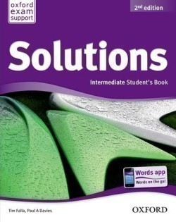 Solutions 2nd Edition Intermediate Student´s Book International Edition