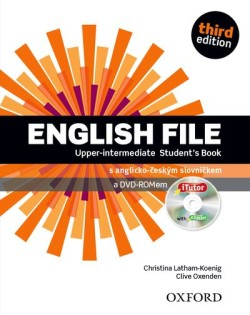 English File Third Edition Upper Intermediate Student's Book with iTutor DVD-ROM (Czech Edition)
