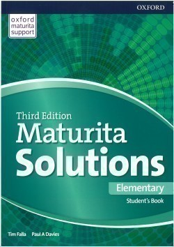 Maturita Solutions 3rd Edition Elementary Student's Book Czech Edition