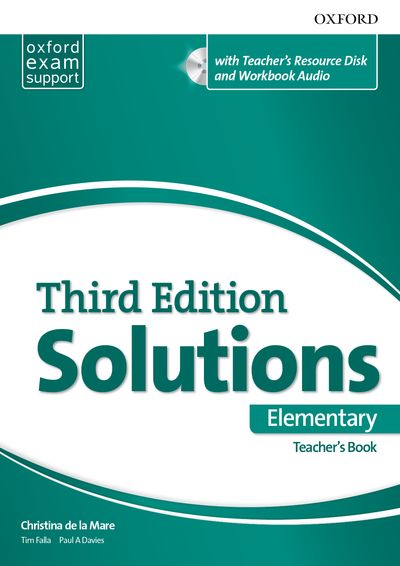 Maturita Solutions 3rd Edition Elementary Teacher's Pack