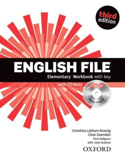 English File Third Edition Elementary Workbook with Answer Key and iChecker