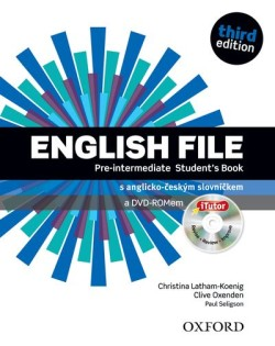 English File Third Edition Pre-intermediate Student´s Book with iTutor DVD-ROM (Czech Edition)