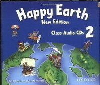Happy Earth New Edition 2 Class Audio CDs /2/