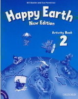 Happy Earth New Edition 2 Activity Book with MultiRom Pack