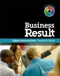 Business Result DVD Edition Upper Intermediate Student´s Book + DVD-ROM Pack