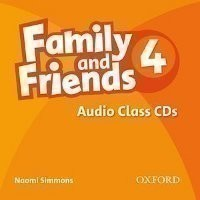 Family and Friends 4 Class Audio CDs /3/