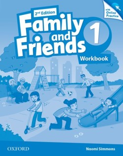 Family and Friends 2nd Edition 1 Workbook with Online Skills Practice