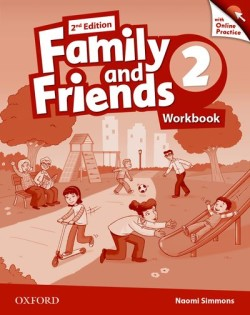 Family and Friends 2nd Edition 2 Workbook with Online Skills Practice
