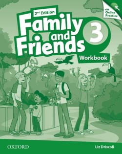 Family and Friends 2nd Edition 3 Workbook with Online Skills Practice