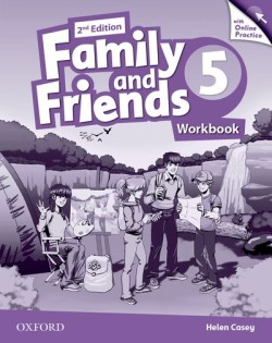 Family and Friends 2nd Edition 5 Workbook with Online Skills Practice