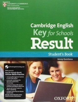 Cambridge English Key for Schools Result Student´s Book with Online Practice