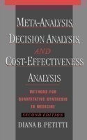 Meta-Analysis, Decision Analysis, and Cost-Effectiveness Analysis