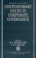 Contemporary Issues in Corporate Governance