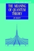 The Meaning of Quantum Theory A Guide for Students of Chemistry and Physics