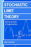 Stochastic Limit Theory An Introduction for Econometricians