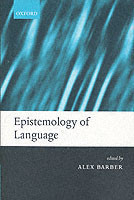 Epistemology of Language