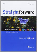 Straightforward Second Edition Pre-intermediate Class Audio CDs /2/