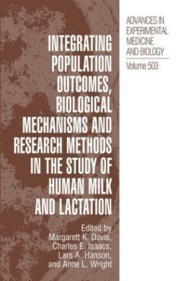 Integrating Population Outcomes, Biological Mechanisms and Research Methods in the Study of Human Milk and Lactation