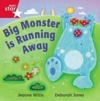 Rigby Star Independent Red Reader 16: Big Monster Runs Away