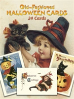 Old-Fashioned Halloween Cards 24 Cards