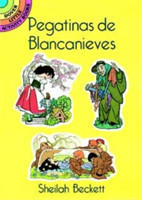 Pegatinas De Blancanieves (Snow White Stickers in Spanish)