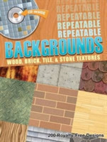 Repeatable Backgrounds Wood, Brick, Tile and Stone Textures